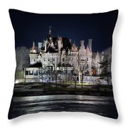 Let The Light On Throw Pillow