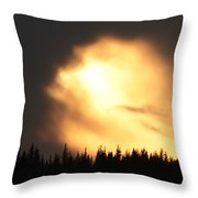Let The Light Shine Throw Pillow