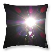 Let The Light Shine Throw Pillow
