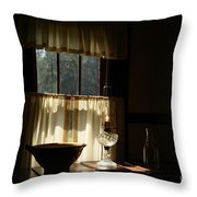 Let The Light Shine In Throw Pillow
