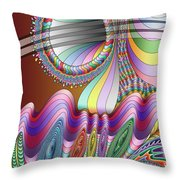 Let The Mystery Be... Throw Pillow