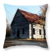 Let The Shadows Fall Throw Pillow