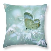 Let The Winter Gone Throw Pillow