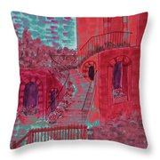 Let Them Eat Cherry Cake #2 Throw Pillow