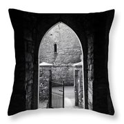 Let There Be Light Cong Church And Abbey Cong Ireland Throw Pillow