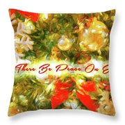 Let There Be Peace On Earth 2 Throw Pillow