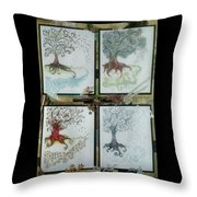 Let Time Fly Throw Pillow