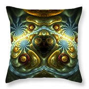 Let Your Feelings Flow Throw Pillow