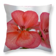Let Your Glory Throw Pillow