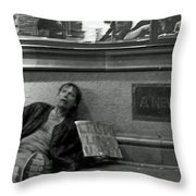 Let's Do Lunch U Buy Throw Pillow
