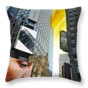 Let's Face It Throw Pillow