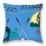 Let's Go Clubbing Throw Pillow