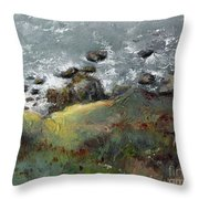 Lets Go Coastal Throw Pillow