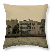 Lets Go Paddle Boarding Throw Pillow