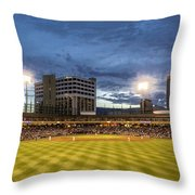 Let's Play Ball  Throw Pillow