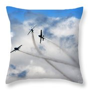 Let's Play In The Clouds Throw Pillow