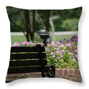 Lets Rest Throw Pillow