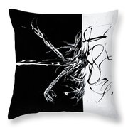 Let's Rock N Roll Throw Pillow