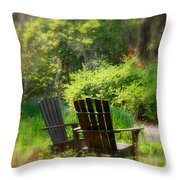 Let's Talk Together Throw Pillow
