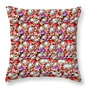 Letter J Stereogram Throw Pillow