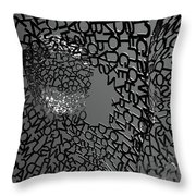 Letters Body Throw Pillow