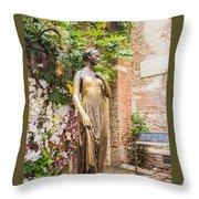 Letters To Juliet Throw Pillow