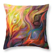 Letting Light In  Throw Pillow
