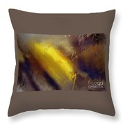 Lettre D Amour Throw Pillow