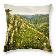 Leven Canyon Reserve Tasmania Throw Pillow