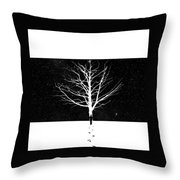 Leverything Is Temperory Throw Pillow