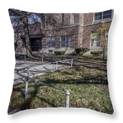 Lew Wallace High School April 2015 016 Throw Pillow