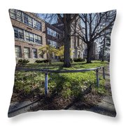 Lew Wallace High School April 2015 017 Throw Pillow