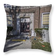 Lew Wallace High School April 2015 024 Throw Pillow