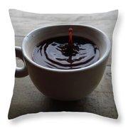 Lewak Coffee Throw Pillow