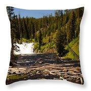 Lewis Falls Throw Pillow