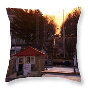 Lexington Harbor Throw Pillow