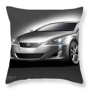 Lexus Throw Pillow
