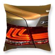 Lexus Ls 460 F Sport Tail Light Throw Pillow