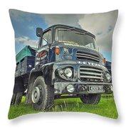 Leyland Comet Throw Pillow