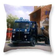 Leyland Dray Mitchell's And Butlers Throw Pillow