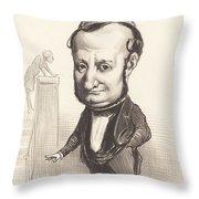 L.f. Raymond Wolowski Throw Pillow