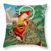 Lhalung Pelgi Dorje Throw Pillow