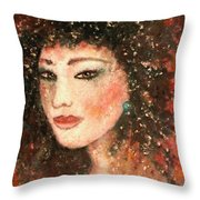 Li Lin Lin Lian Throw Pillow