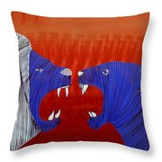 Lib - 131 Throw Pillow
