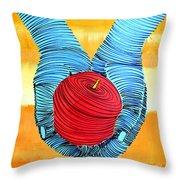 Lib-252 Throw Pillow