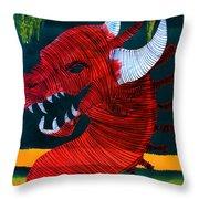 Lib-254 Throw Pillow