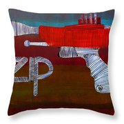 Lib-255 Throw Pillow