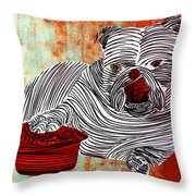 Lib-476 Throw Pillow