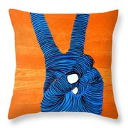 Lib-485 Throw Pillow