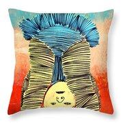 Lib-497 Throw Pillow